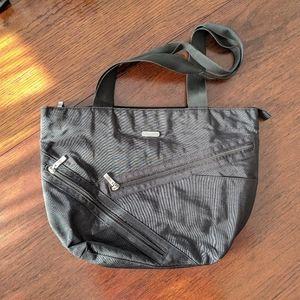 BAGGALLINI   Nylon Black Tote Travel Work Bag